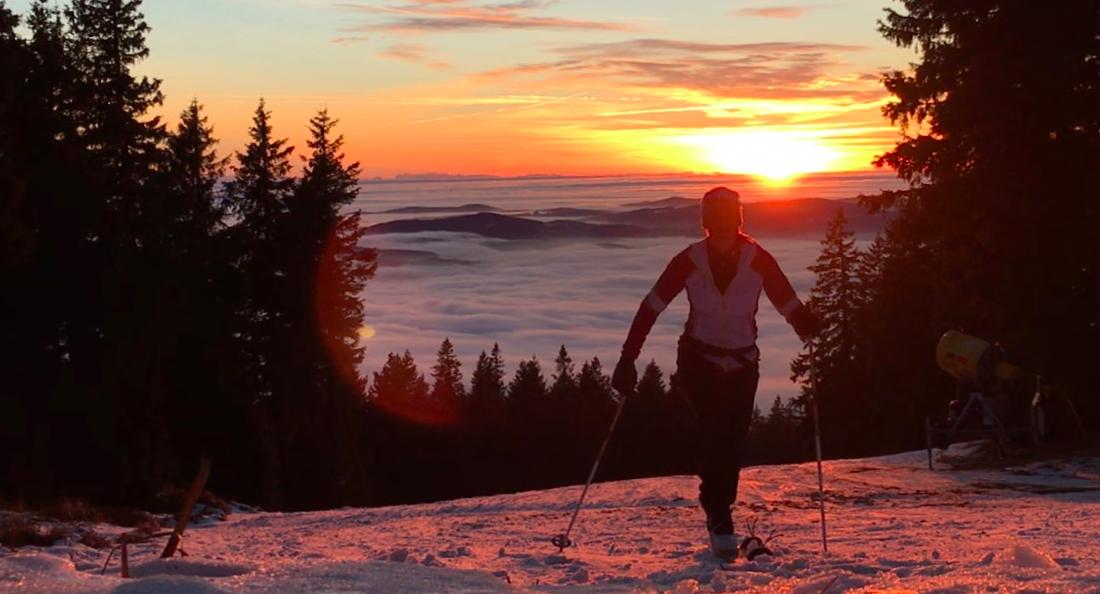 Skitourenwinter Böhmerwald